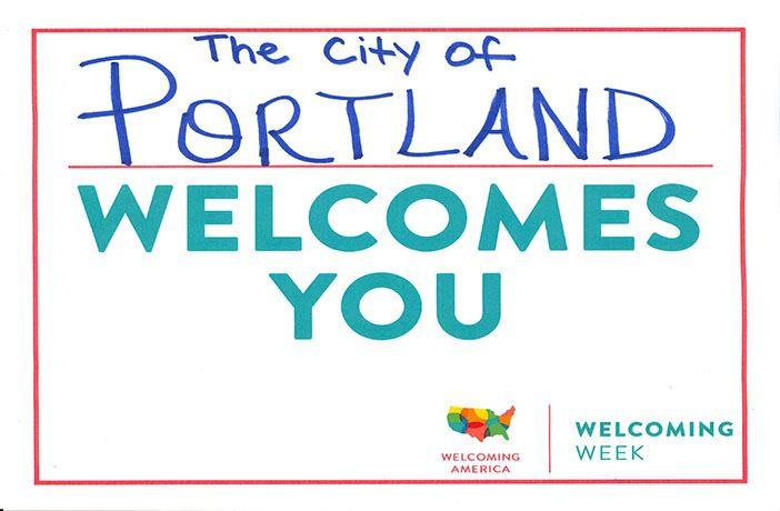 Portland Welcomes You