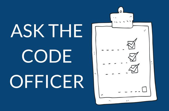 Ask the Code Officer