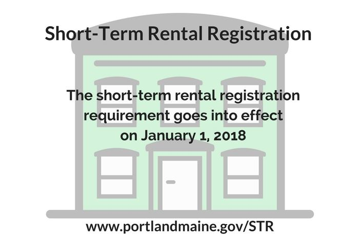 STR Registration Reminder