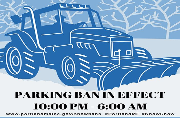PARKING BAN IN EFFECT 2