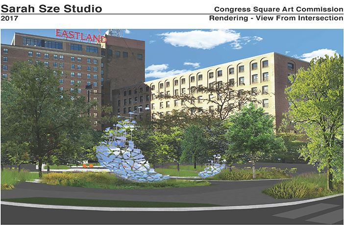 congress square sarah sze design scheme