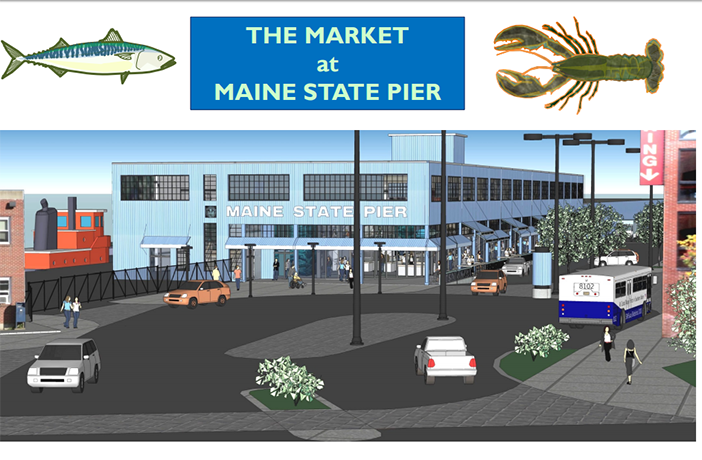 proposed market at maine state pier