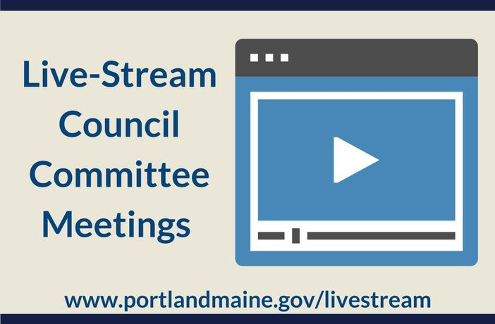 Live Stream Council Committee Meetings