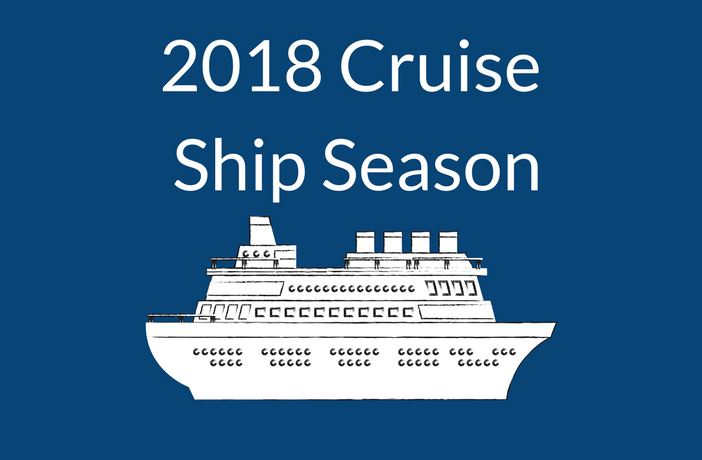 2018 Cruise Ship Season