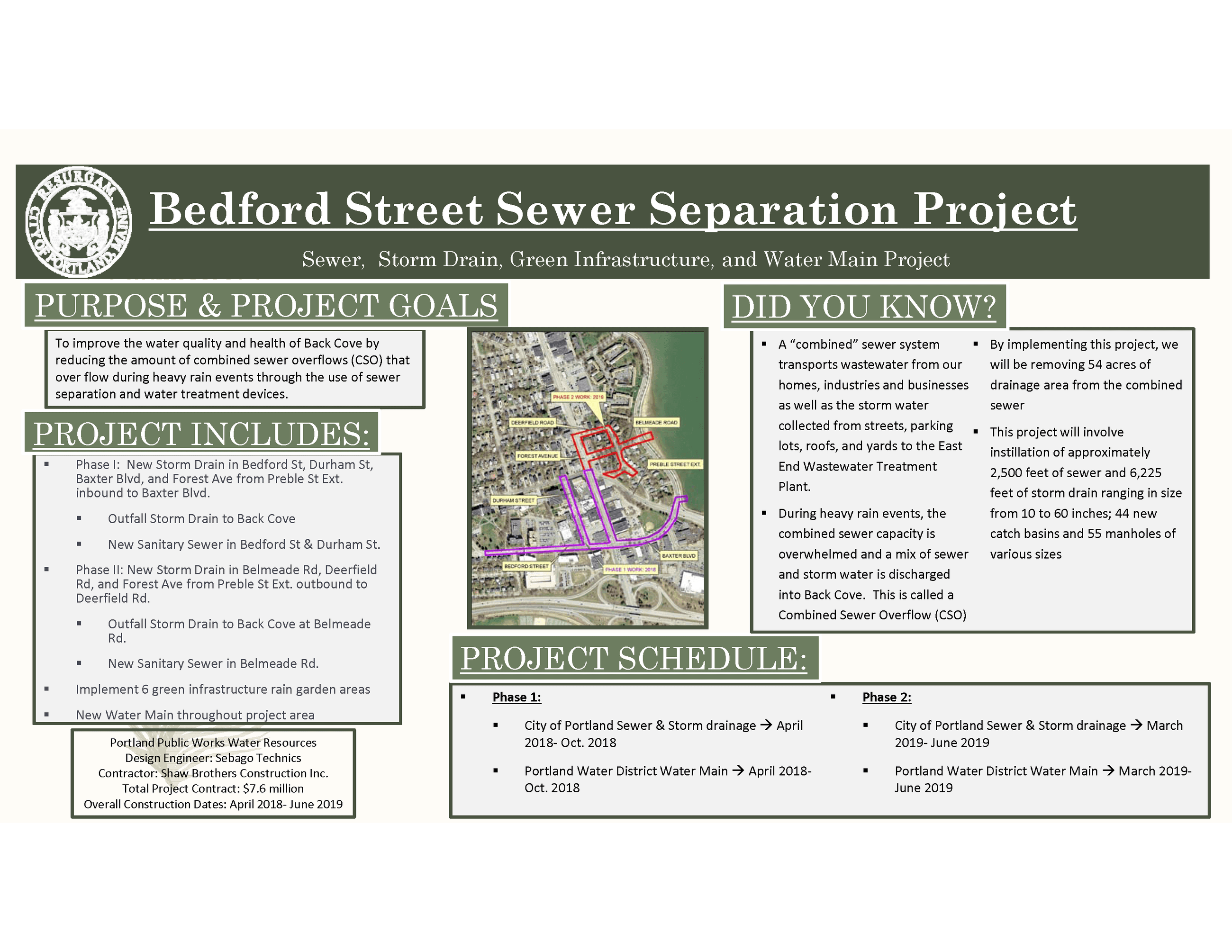 Bedford Street 2018-05-10 Public Information Sign