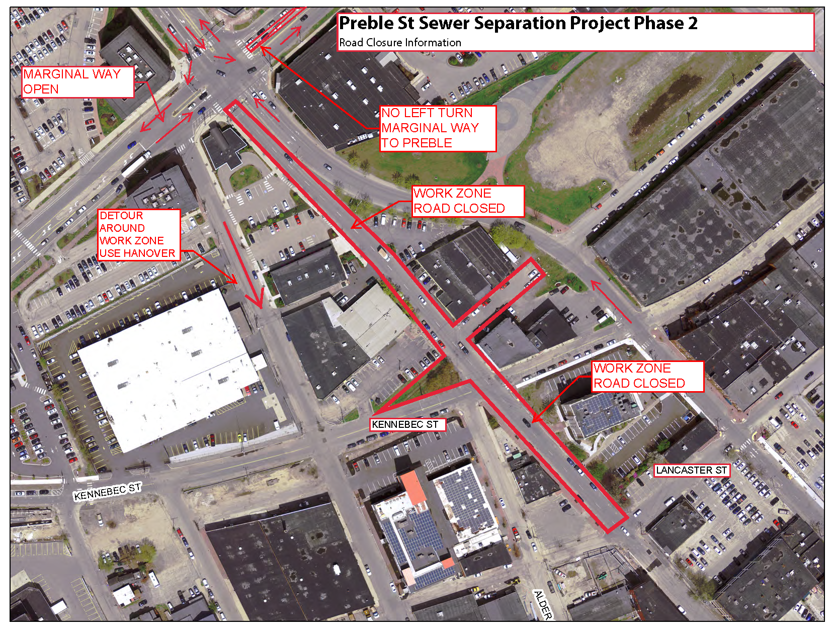2019-06-13 Preble St Closure Update small