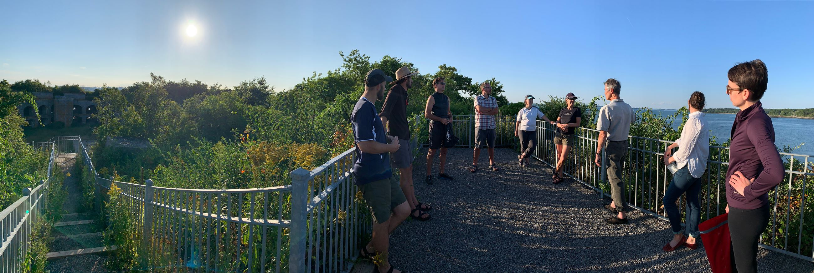 Parks Commission Ft Gorges Trip 2019