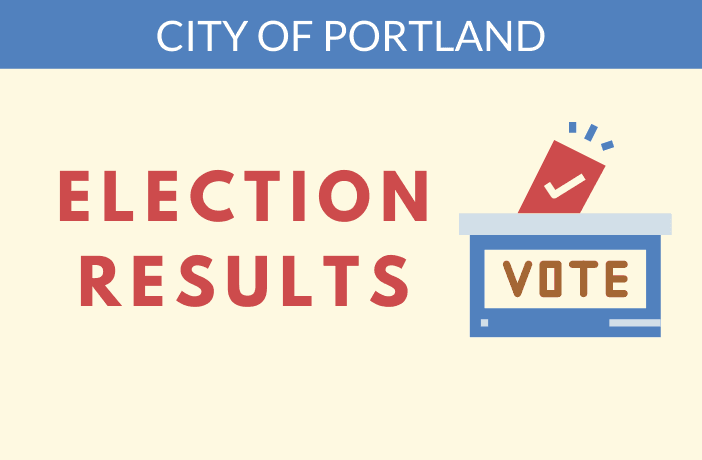 election results for city of portland