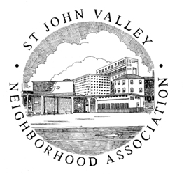 Saint John Valley Neighborhood Association Logo
