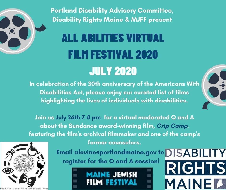 All Abilities Virtual Film Festival 2020